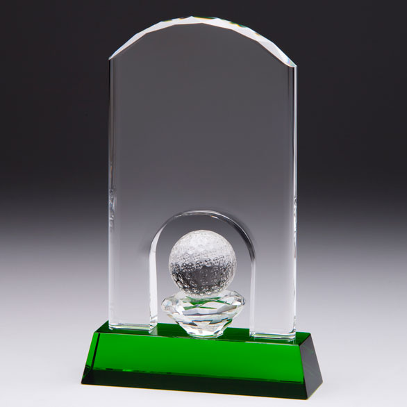 Emerald Ace Golf Trophy