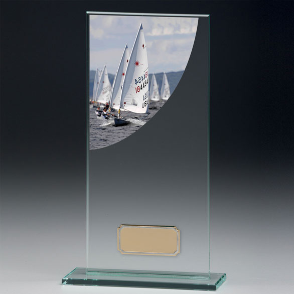Jade Glass Sailing Trophy