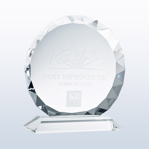 Gem Cut Circle Corporate Award