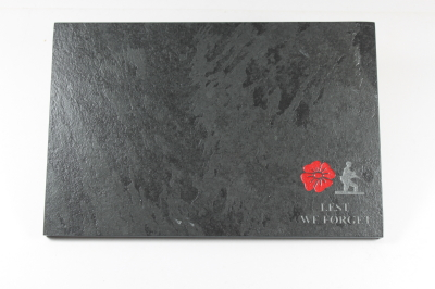 Engraved Slate Place Mat