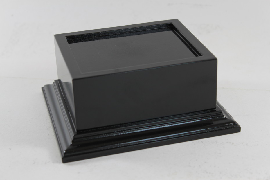 Wooden Trophy Base Black