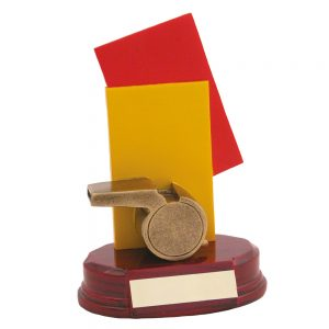 Referee Whistle and Cards Award 171mm