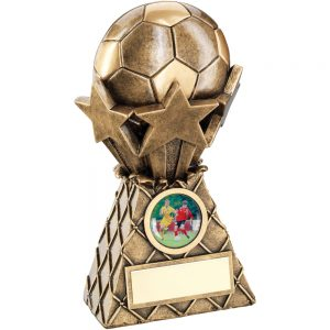 3D Football Resin Trophy