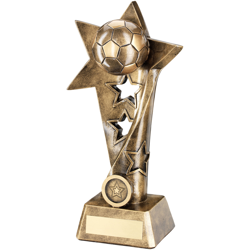 3D Football Trophy Pyramid