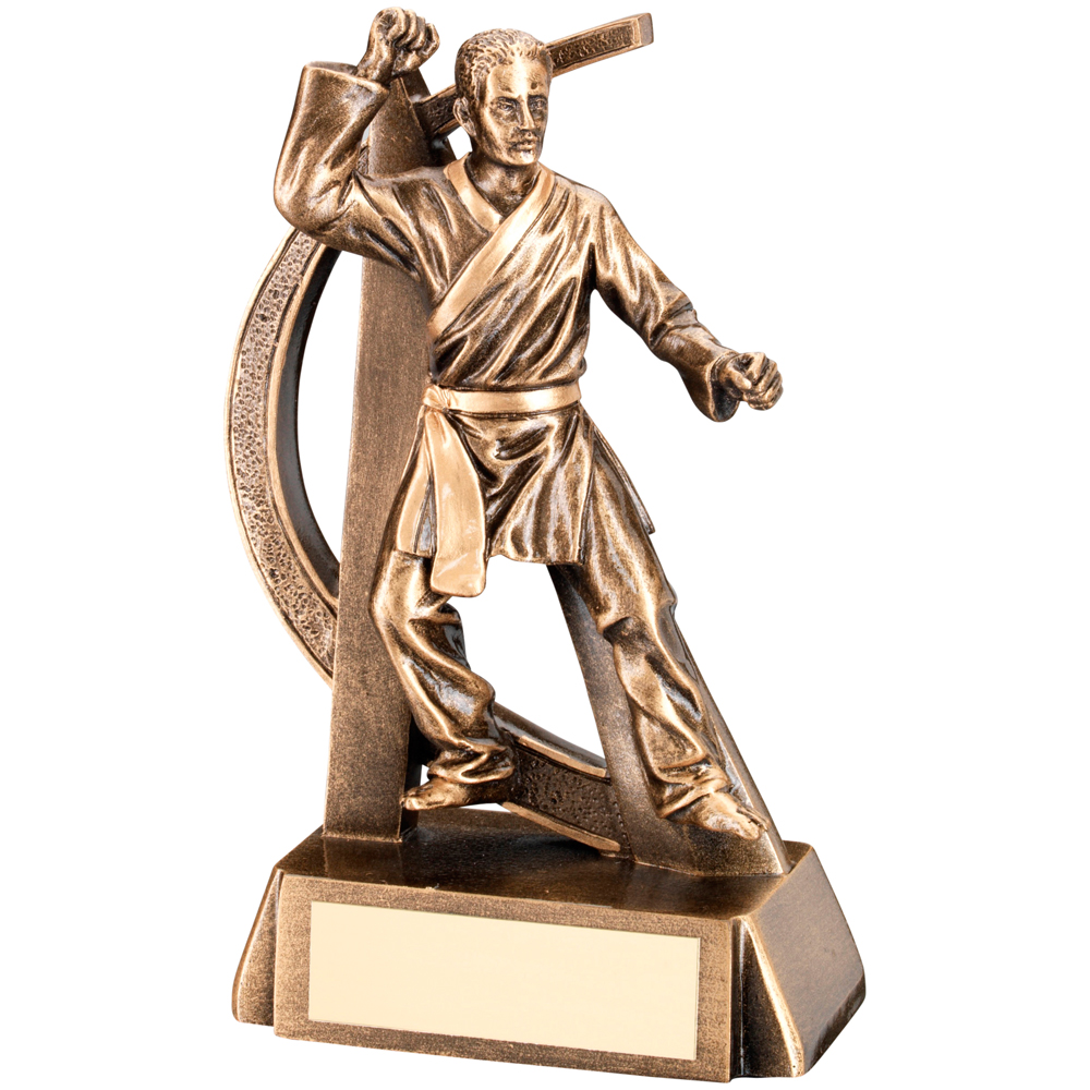 Martial Arts Trophy Figure