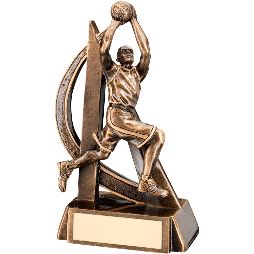 Basketball Male FigureTrophy
