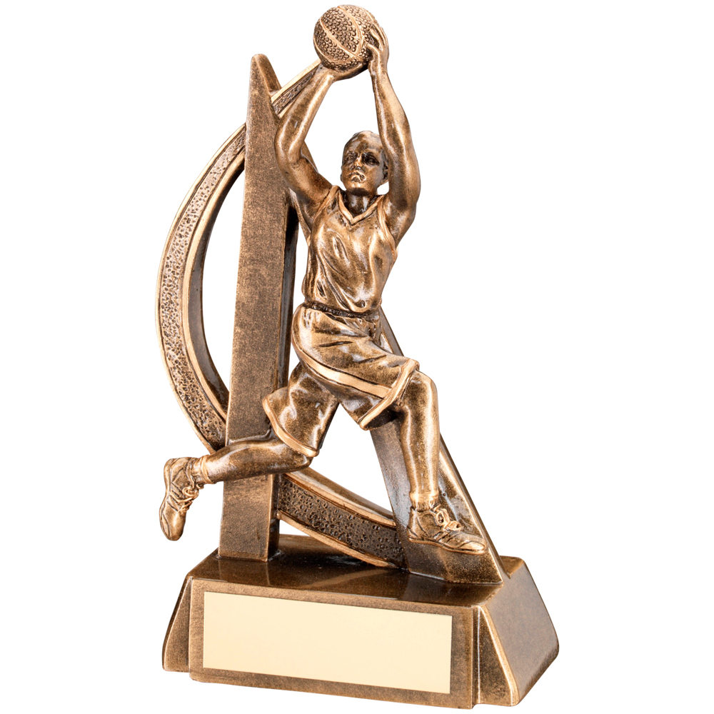 Basketball Female FigureTrophy