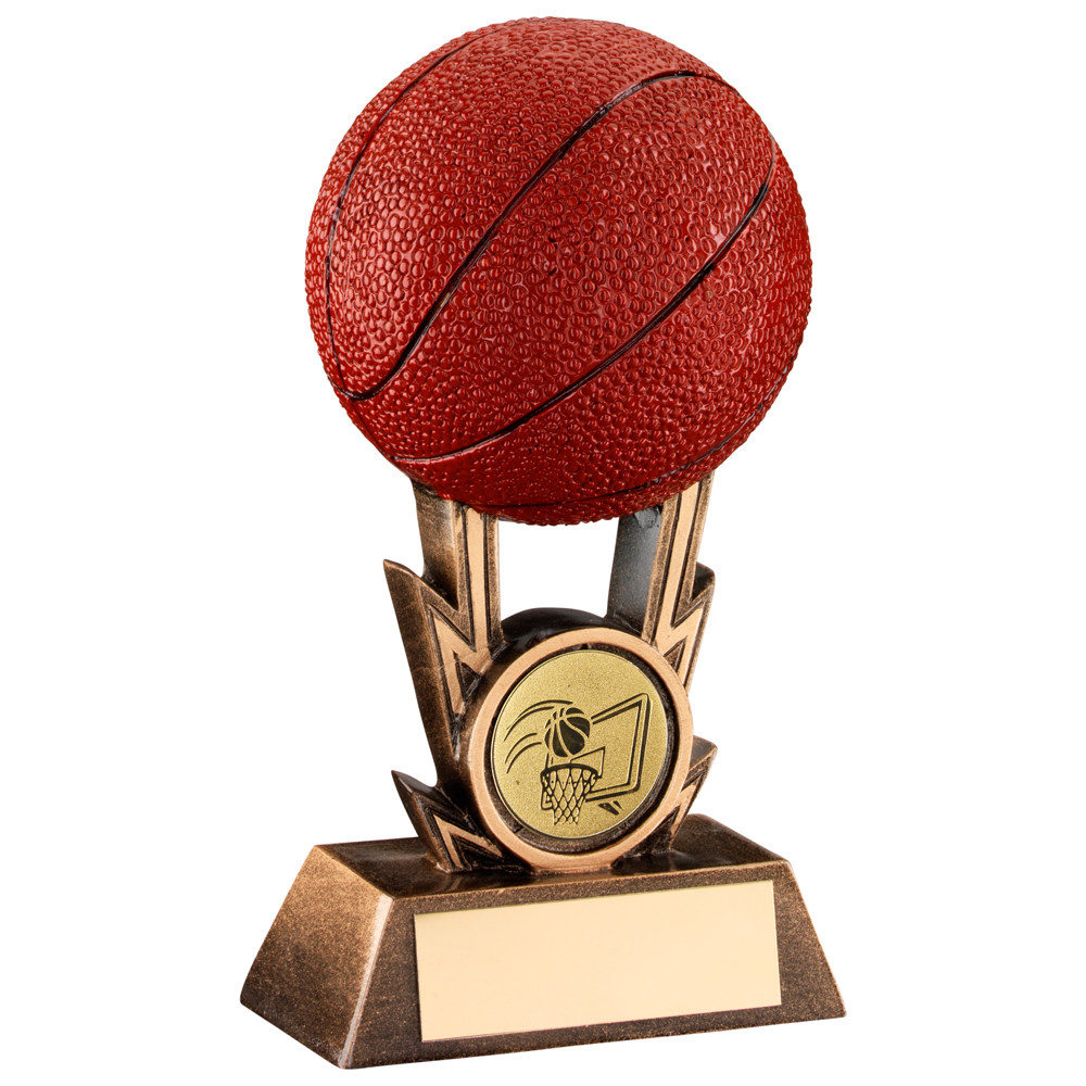 3D Basketball Resin Trophy