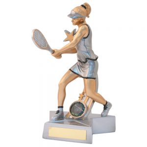 Female Tennis Award/Trophy