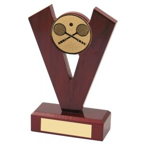 Squash Wooden Award 133mm