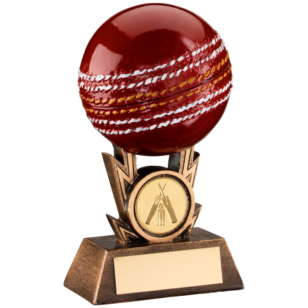 3D Cricket Ball Trophy