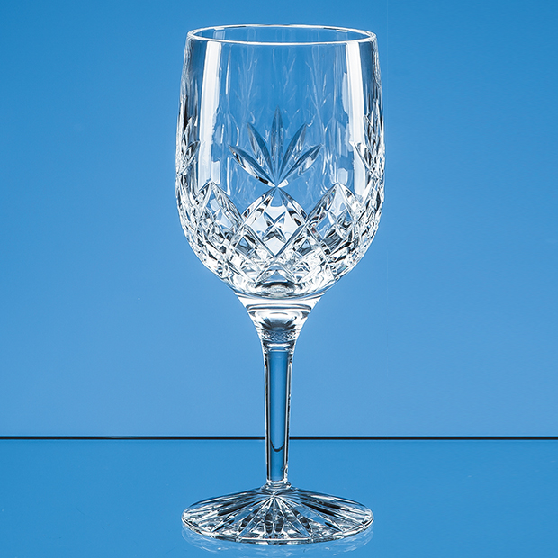 Blenheim Engraved Wine Glass