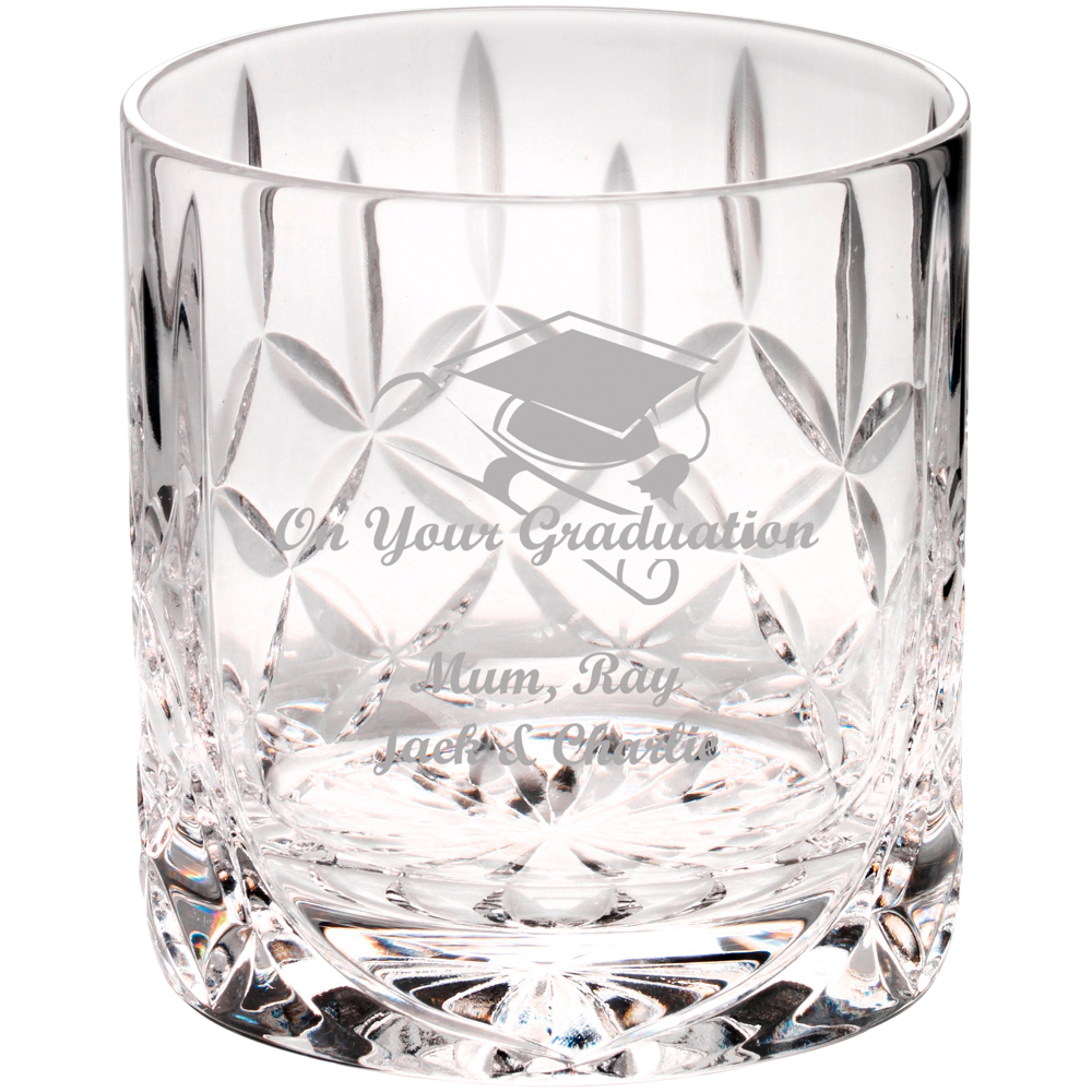 Engraved Excel Whisky Tumbler 290ml