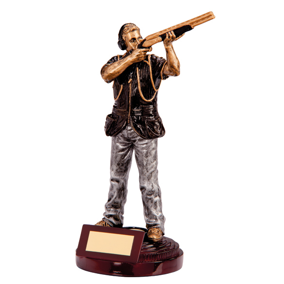 Figure Clay Pigeon Trophy
