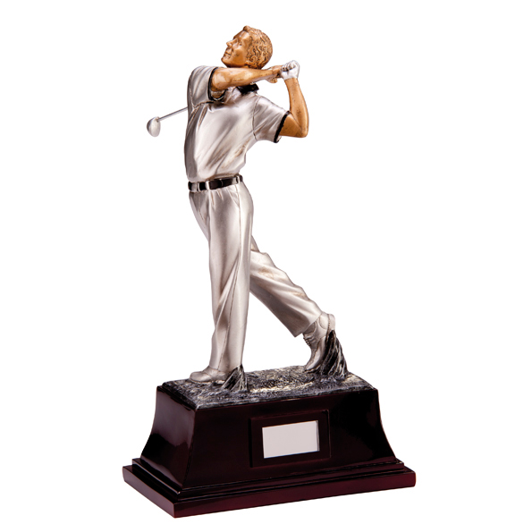 Colossus Golf Trophy Male Figure