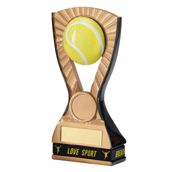 3D Resin Tennis Trophy