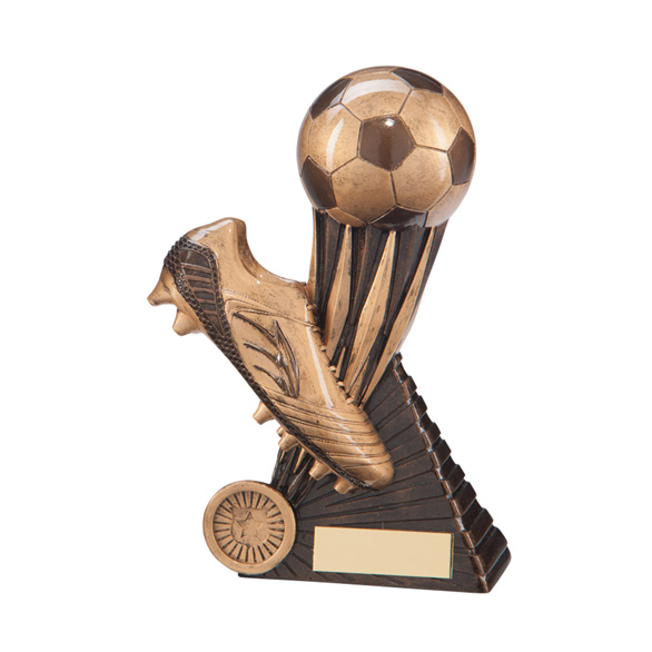 3D Boot & Football Trophy