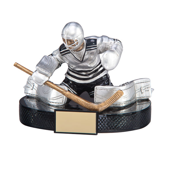 Goalie Ice Hockey Trophy
