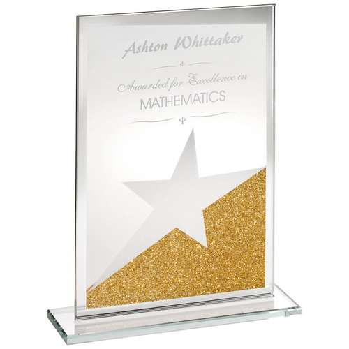 Corporate Glass Gold & Silver Award
