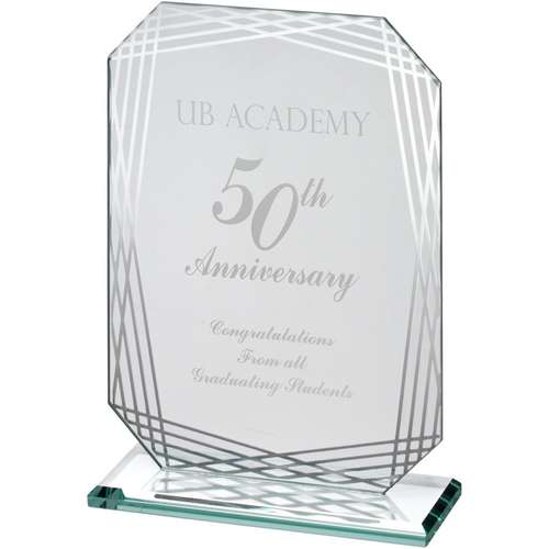 Glass Corporate Award Rectangle