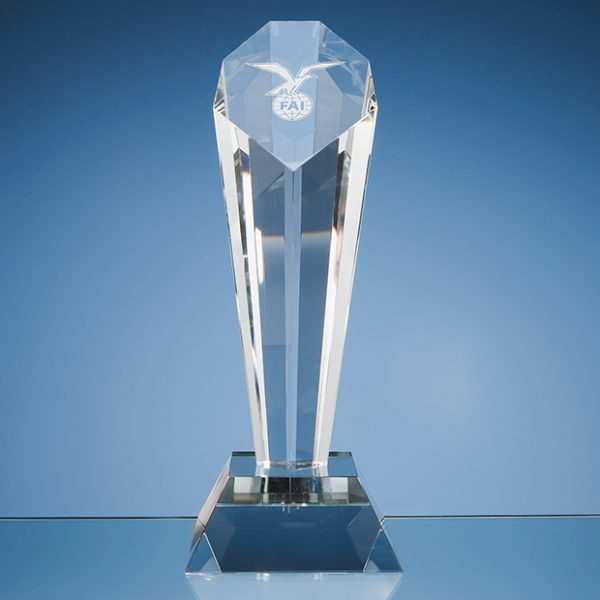 Optical Crystal Sloped Facet Award