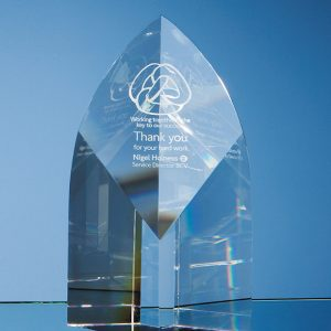 Optical Crystal Arch Corporate Award