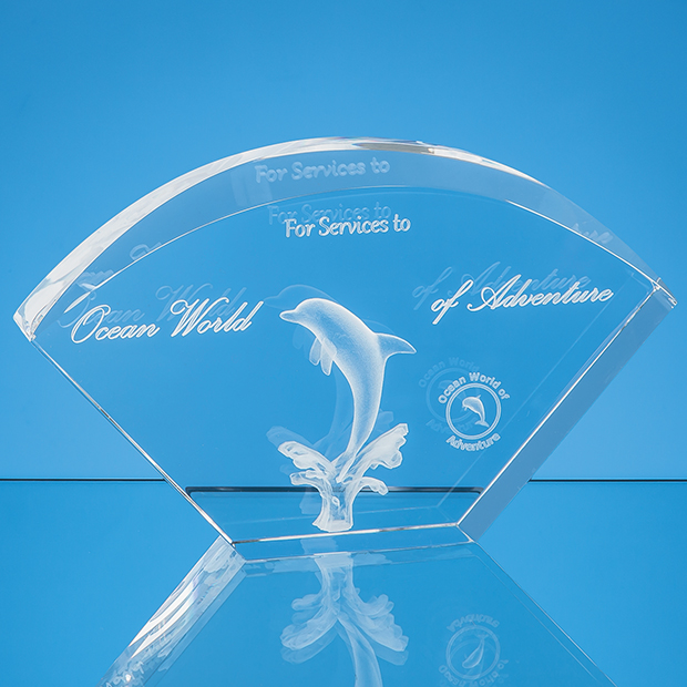 Bevelled Arch Laser Engraved Awards