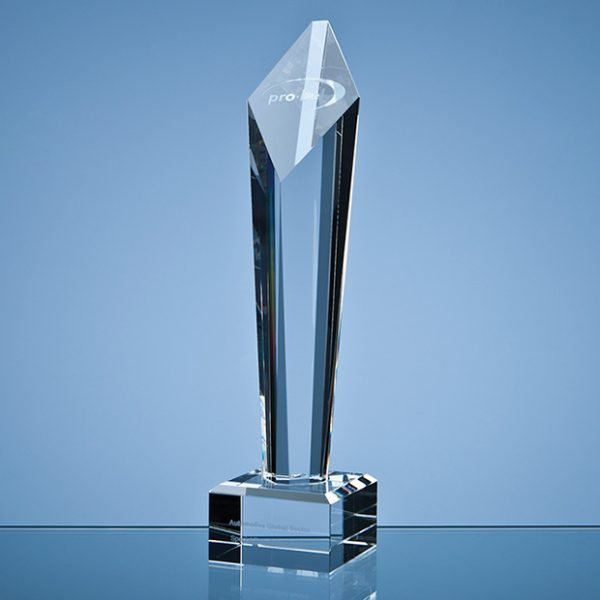 Optical Crystal Diamond Column Award