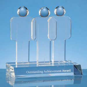 Optical Crystal 'Teamwork' Award