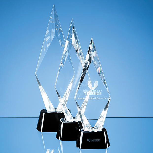 Diamond Facet Peak Corporate Award