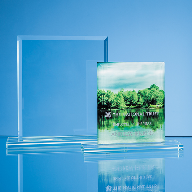 Glass Rectangle Bespoke Award