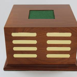 Trophy/Cup wood display base